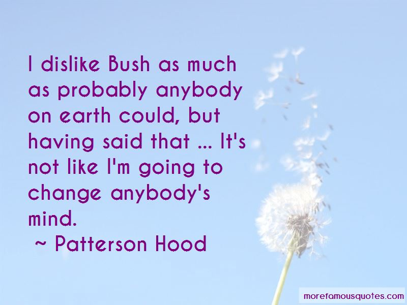 Patterson Hood Quotes