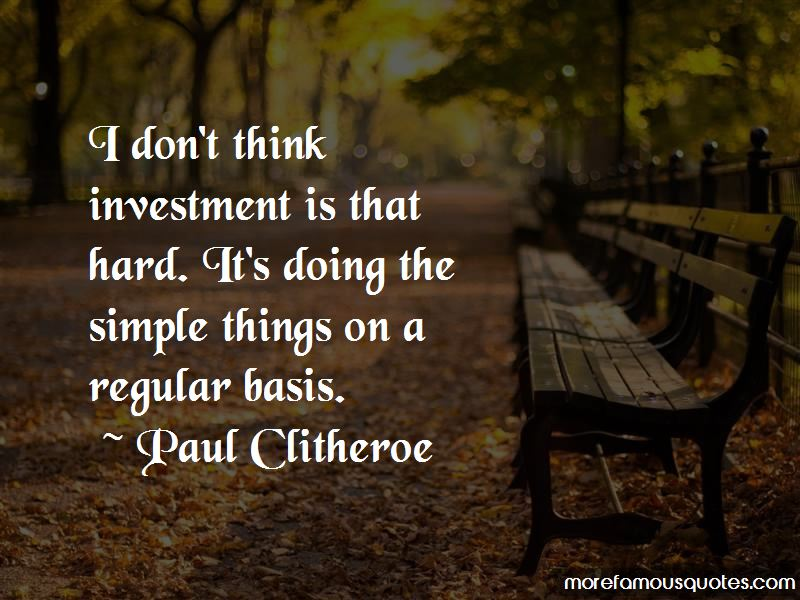 Paul Clitheroe Quotes Pictures 3