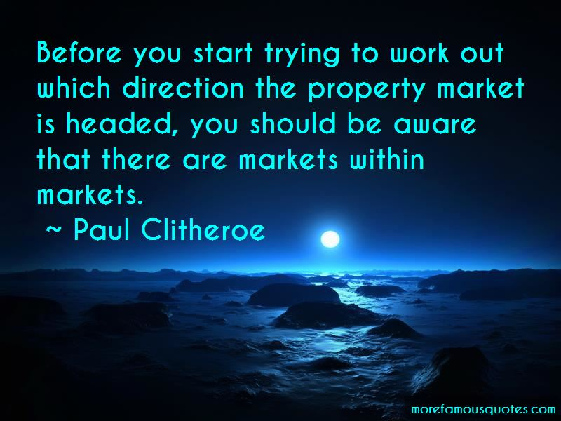 Paul Clitheroe Quotes Pictures 4