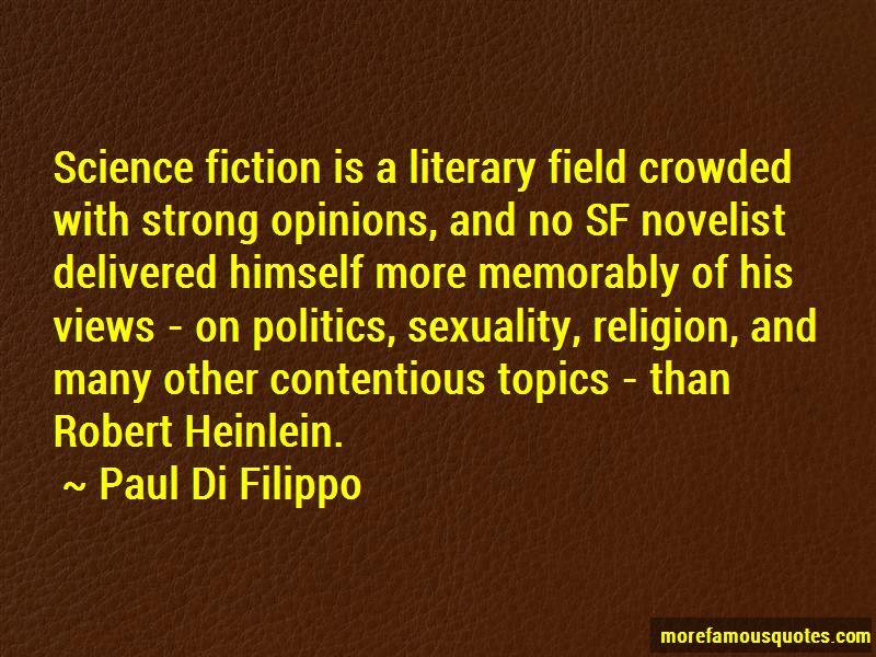 Paul Di Filippo Quotes Pictures 2