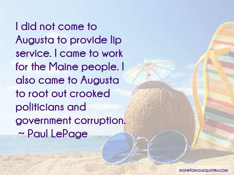 Paul LePage Quotes Pictures 3