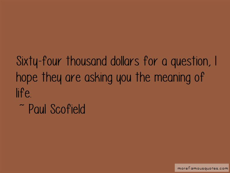 Paul Scofield Quotes Pictures 4