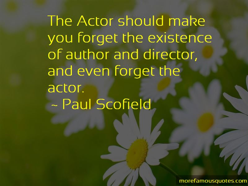 Paul Scofield Quotes