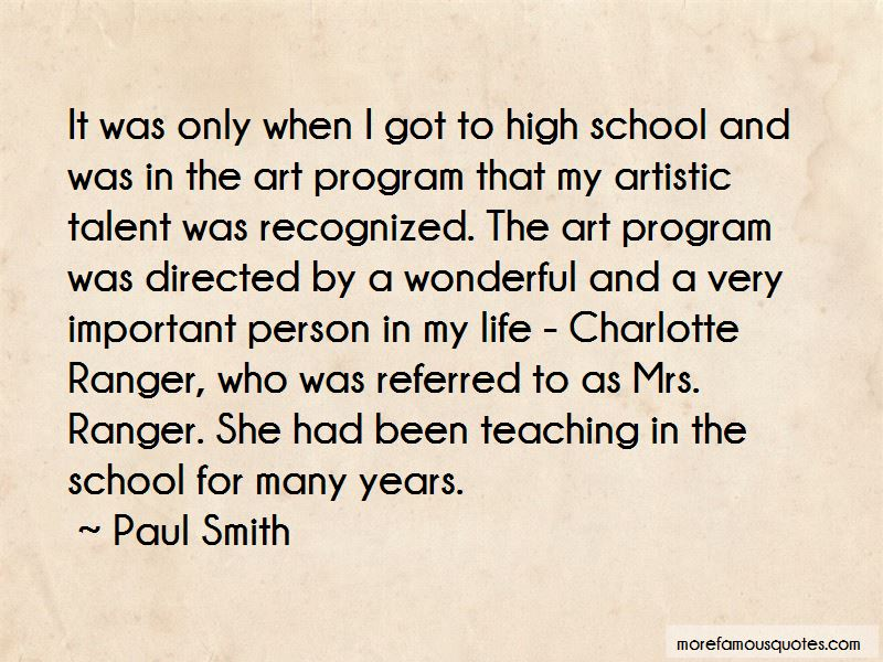 Paul Smith Quotes Pictures 4
