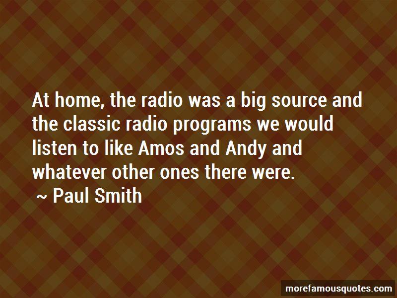 Paul Smith Quotes