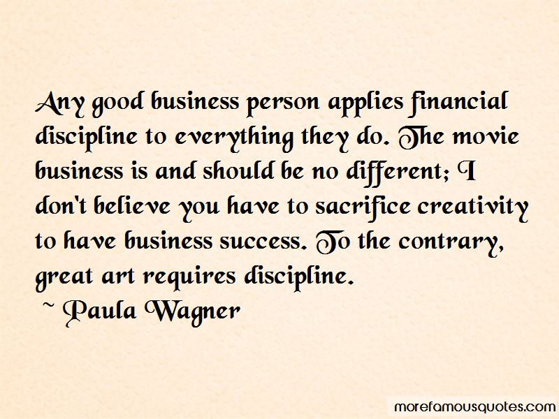 Paula Wagner Quotes Pictures 2
