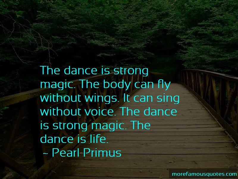Pearl Primus Quotes