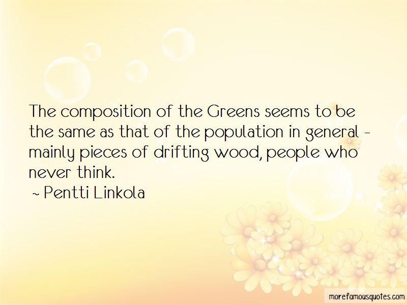 Pentti Linkola Quotes