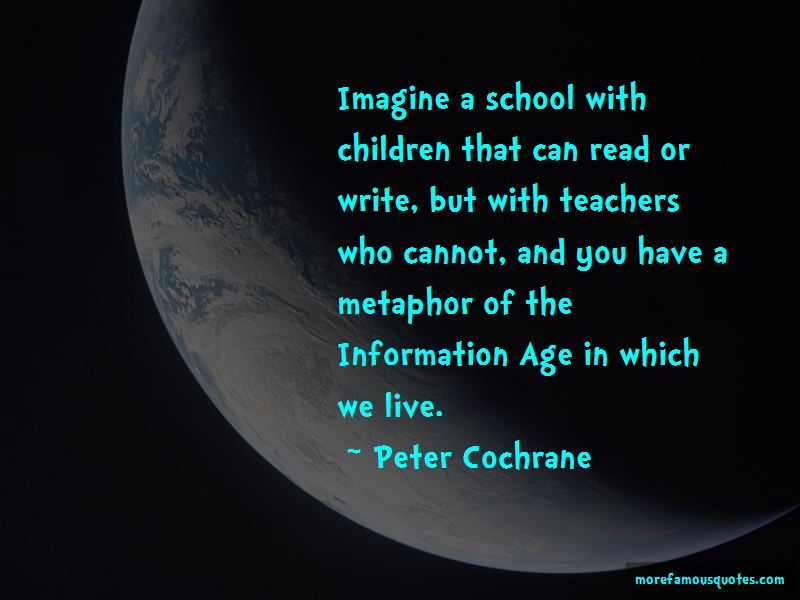 Peter Cochrane Quotes Pictures 2