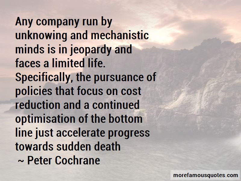 Peter Cochrane Quotes