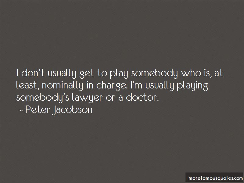 Peter Jacobson Quotes Pictures 2