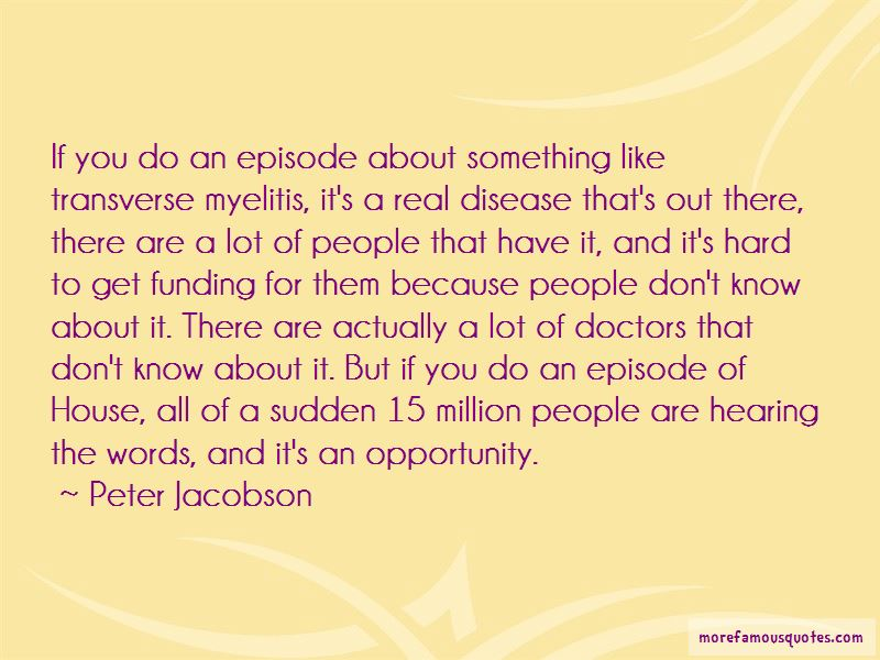 Peter Jacobson Quotes Pictures 3
