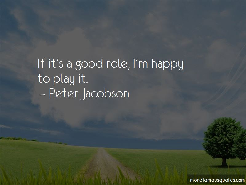 Peter Jacobson Quotes Pictures 4