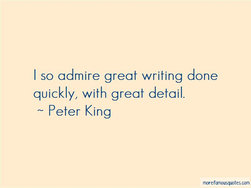 Peter King Quotes Pictures 4