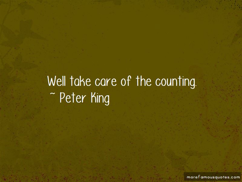 Peter King Quotes