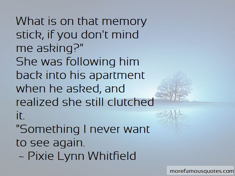 Pixie Lynn Whitfield Quotes Pictures 3