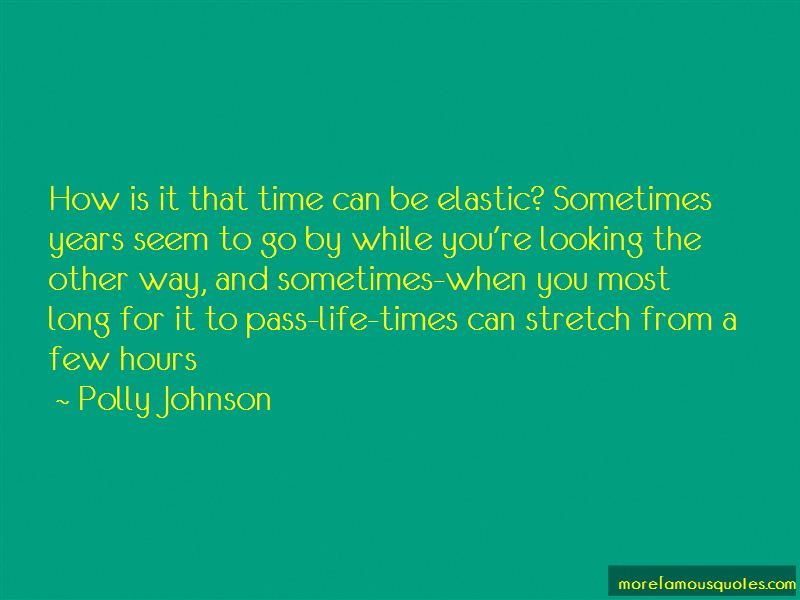 Polly Johnson Quotes Pictures 2