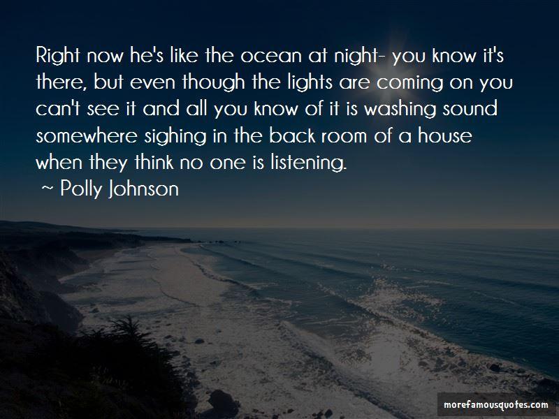 Polly Johnson Quotes