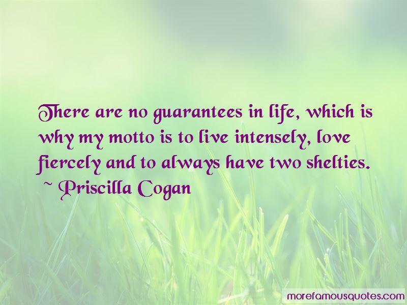 Priscilla Cogan Quotes