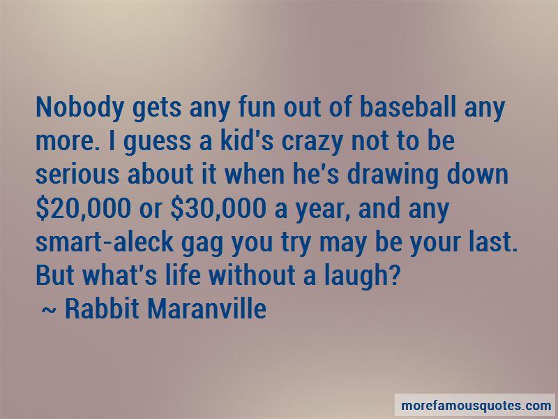 Rabbit Maranville Quotes Pictures 2