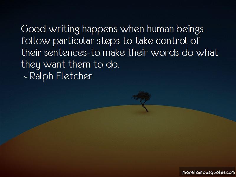 Ralph Fletcher Quotes Pictures 4