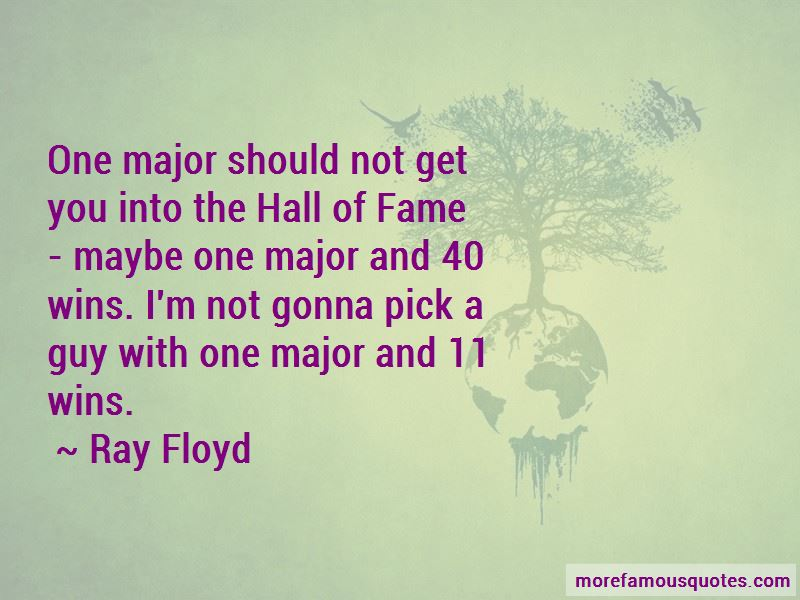 Ray Floyd Quotes Pictures 2