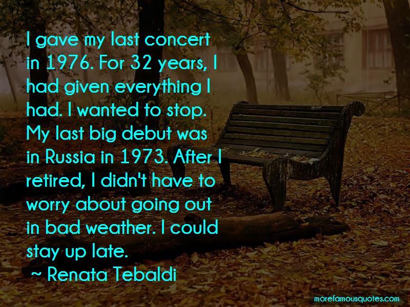 Renata Tebaldi Quotes Pictures 3