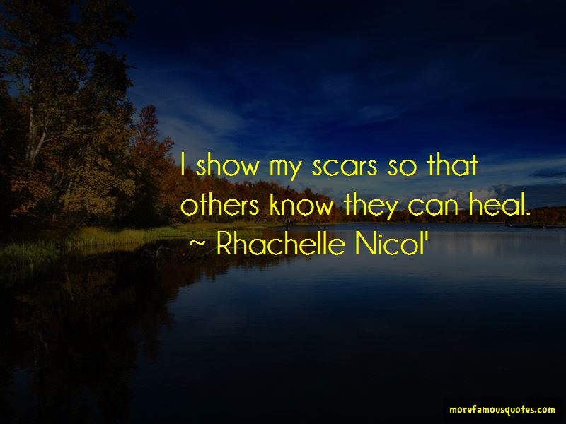 Rhachelle Nicol' Quotes