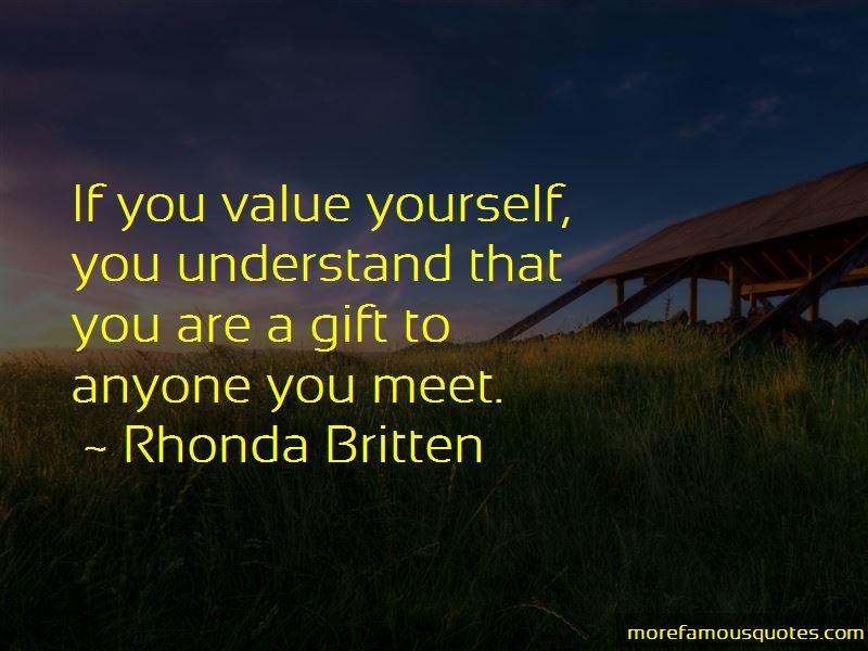 Rhonda Britten Quotes Pictures 2