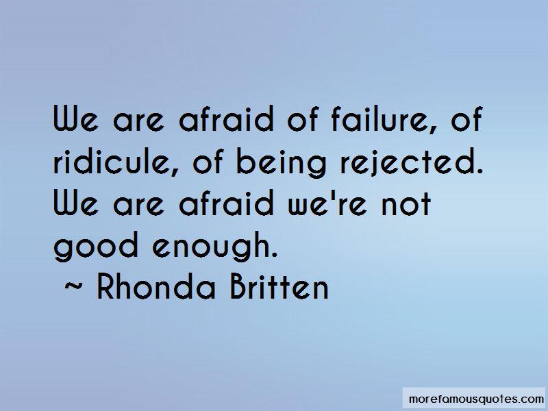 Rhonda Britten Quotes Pictures 3
