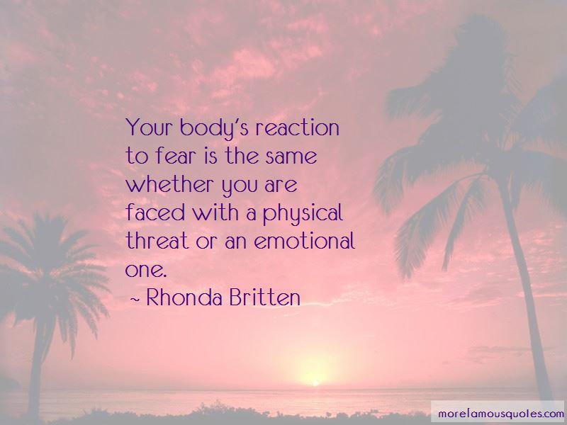 Rhonda Britten Quotes Pictures 4