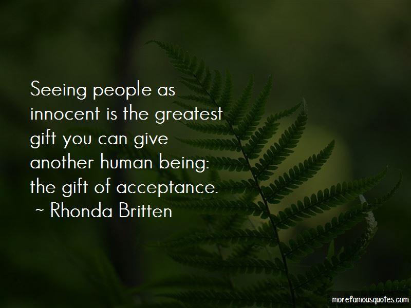 Rhonda Britten Quotes