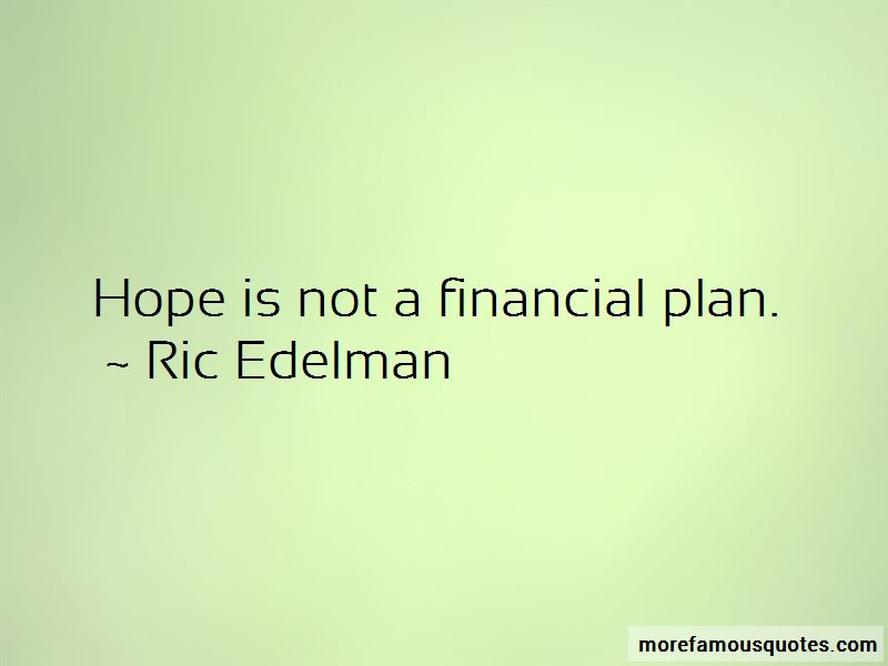 Ric Edelman Quotes