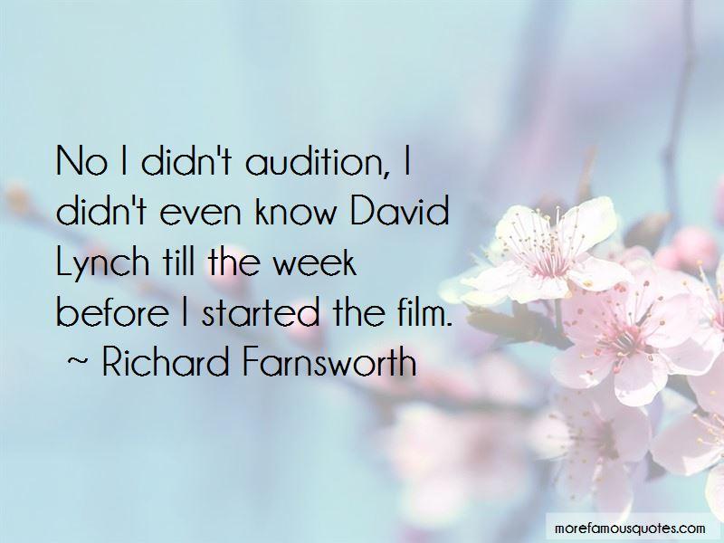 Richard Farnsworth Quotes