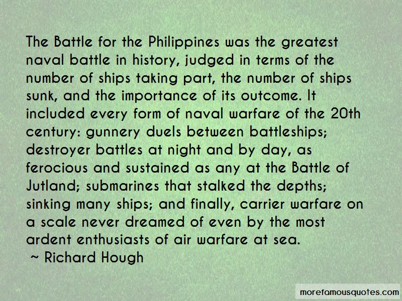 Richard Hough Quotes Pictures 3