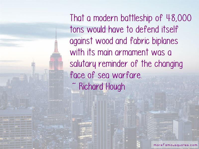 Richard Hough Quotes