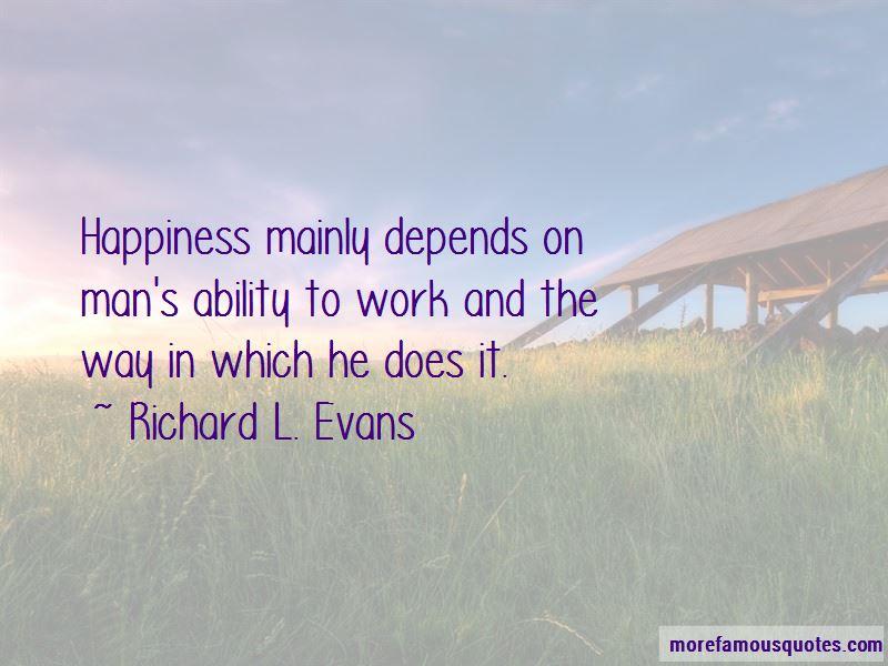 Richard L. Evans Quotes Pictures 3