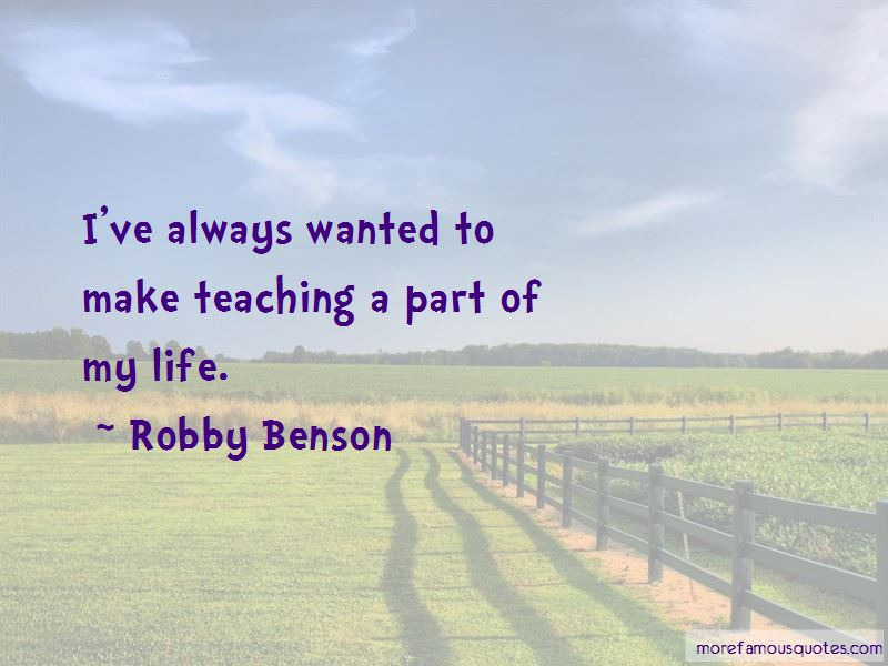 Robby Benson Quotes Pictures 3