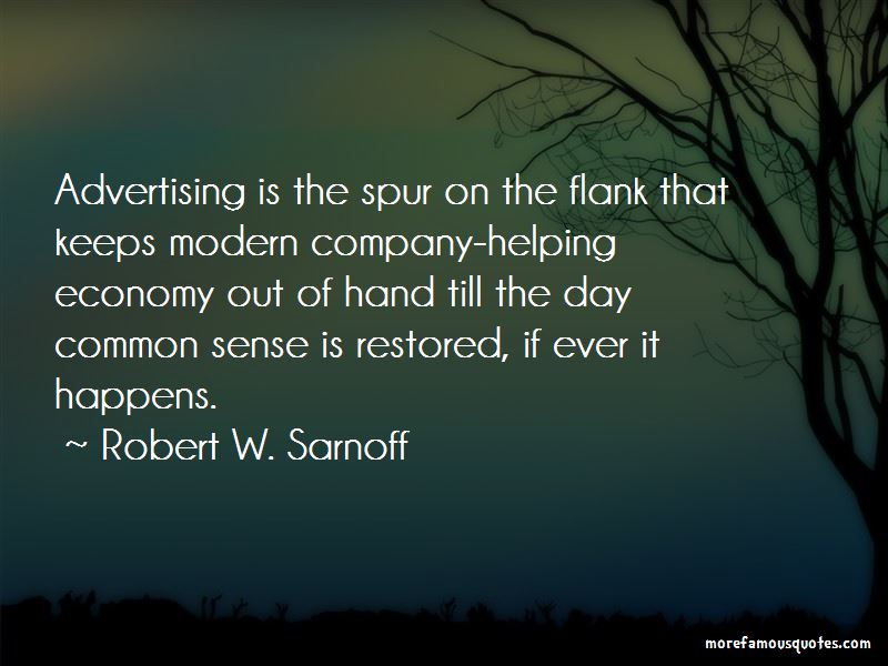 Robert W. Sarnoff Quotes Pictures 2