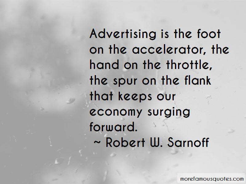 Robert W. Sarnoff Quotes