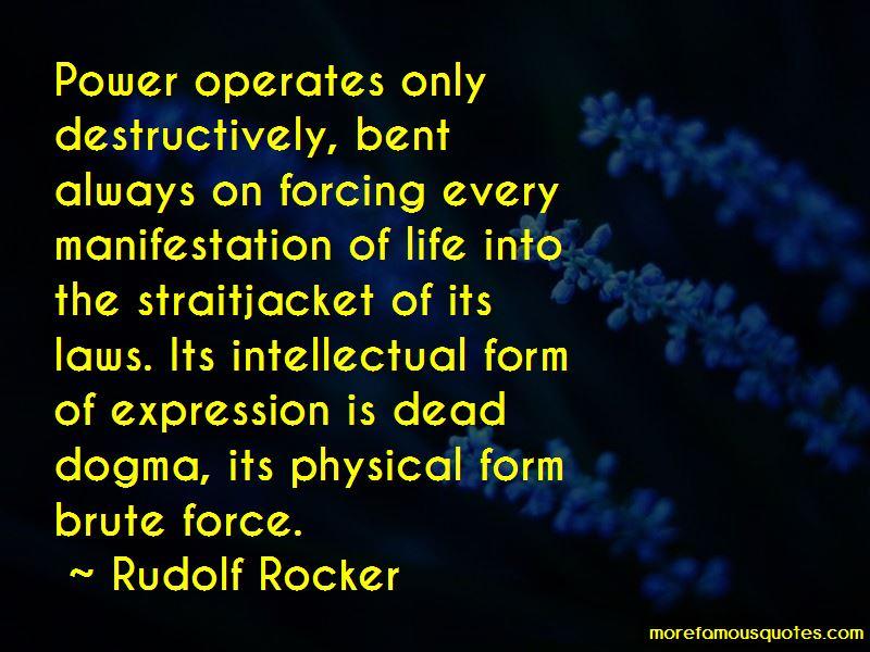 Rudolf Rocker Quotes