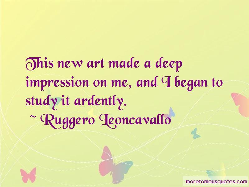 Ruggero Leoncavallo Quotes Pictures 2