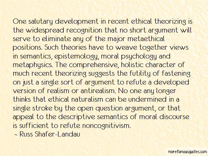 Russ Shafer-Landau Quotes