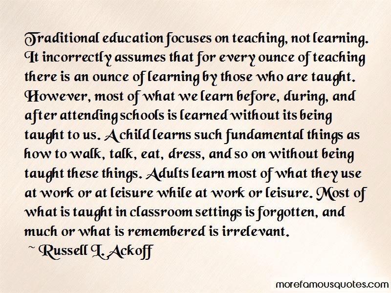 Russell L. Ackoff Quotes Pictures 4