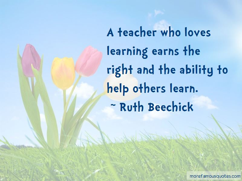 Ruth Beechick Quotes Pictures 2