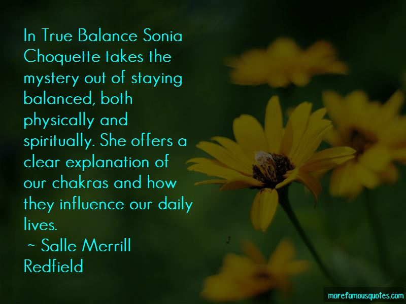 Salle Merrill Redfield Quotes Pictures 4