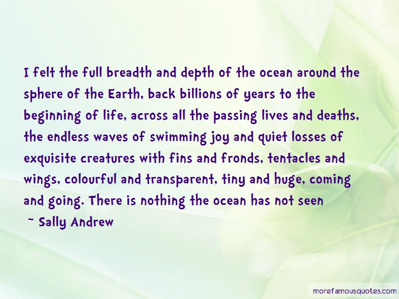 Sally Andrew Quotes Pictures 2