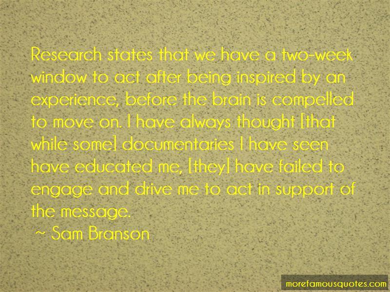 Sam Branson Quotes Pictures 2