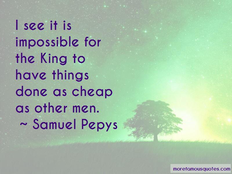 Samuel Pepys Quotes
