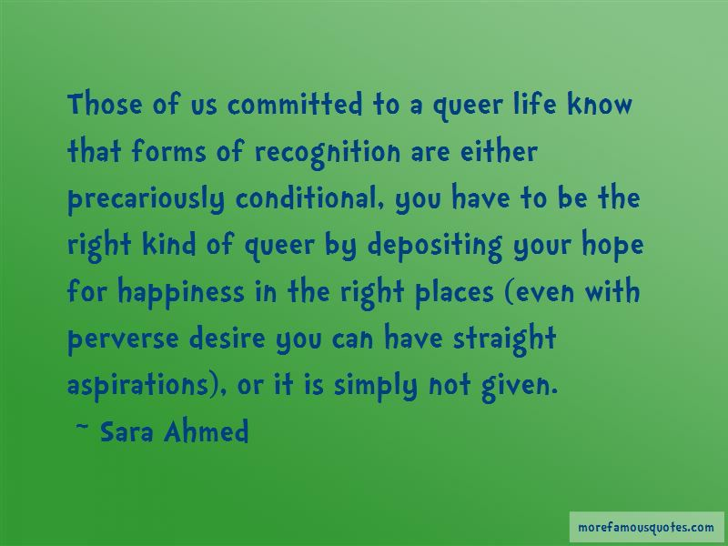 Sara Ahmed Quotes Pictures 3